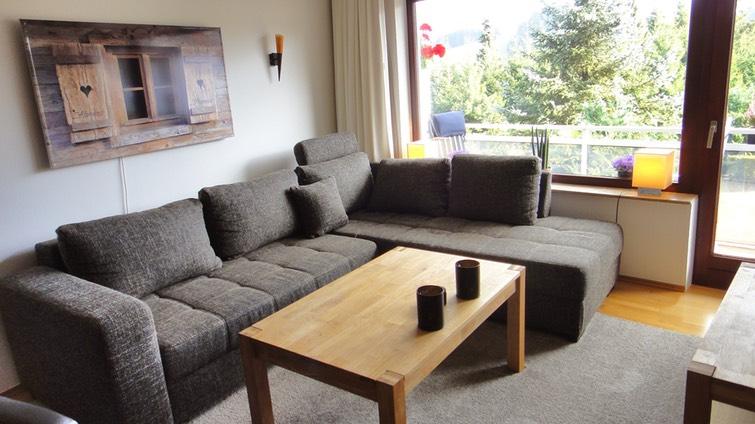 wohnzimmer / wohnlandschaft | alpenau die ferienwohnungen in, Wohnzimmer